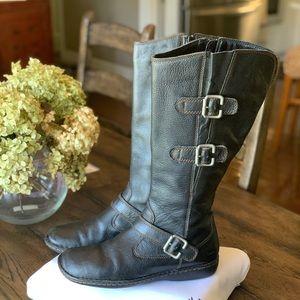 b.o.c.  Leather Riding Boots EUC